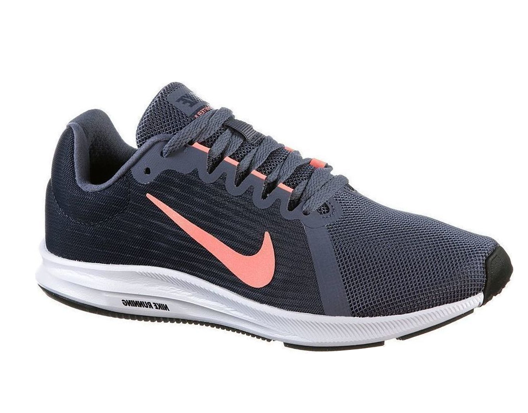 Nike - Zapatillas running Downshifter 8 gris, coral