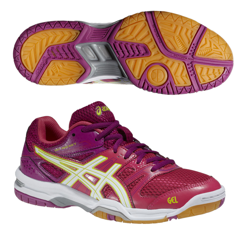 ASICS Indoor fucsia
