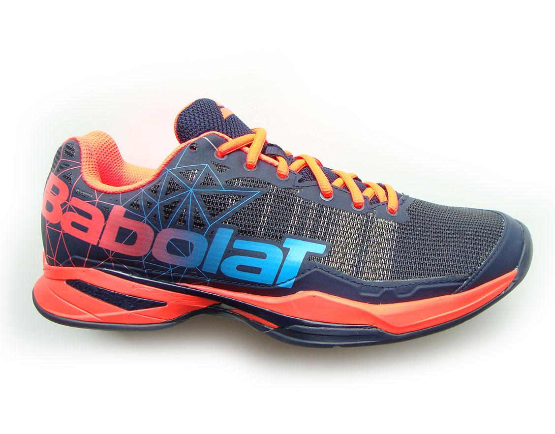 Zapatos naranjas Babolat para hombre sO4oU