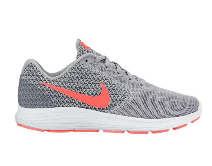 Nike Grises Y Naranjas