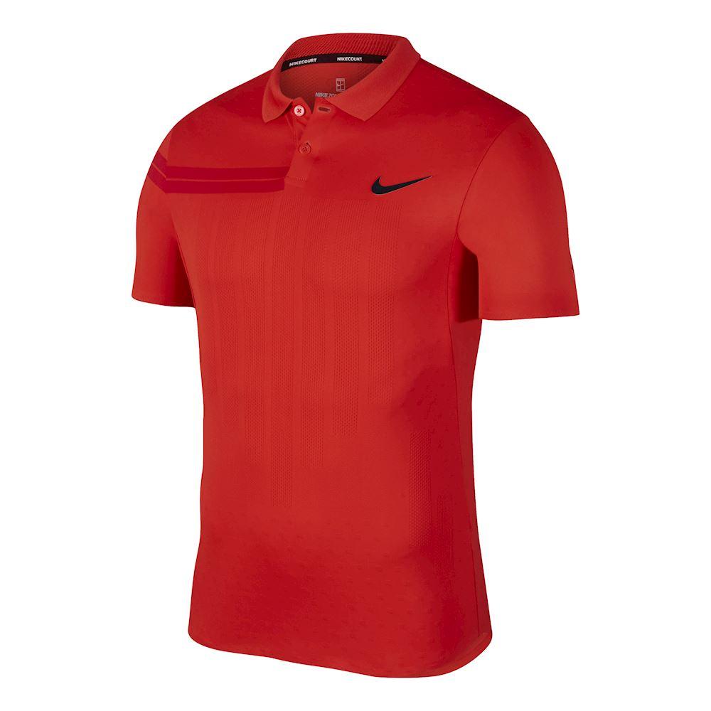 82094a8fe2a Rf Federer Advantage Rojo Polo Hombre Tenis Ropa Nike qZYzzw